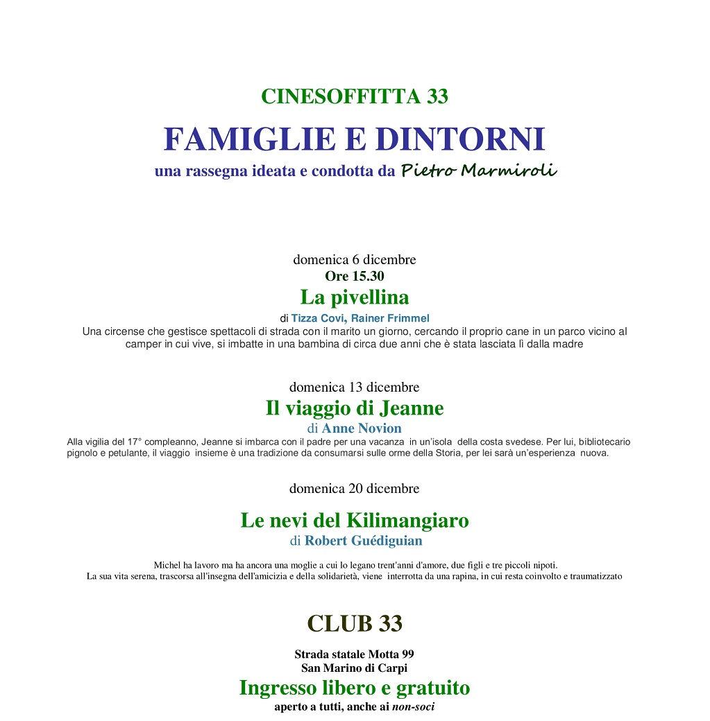 Cinesoffitta